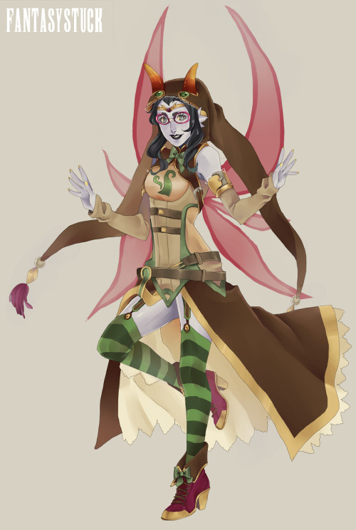 Fantasy style Fef! I made her match Jade's kinda since there both witches