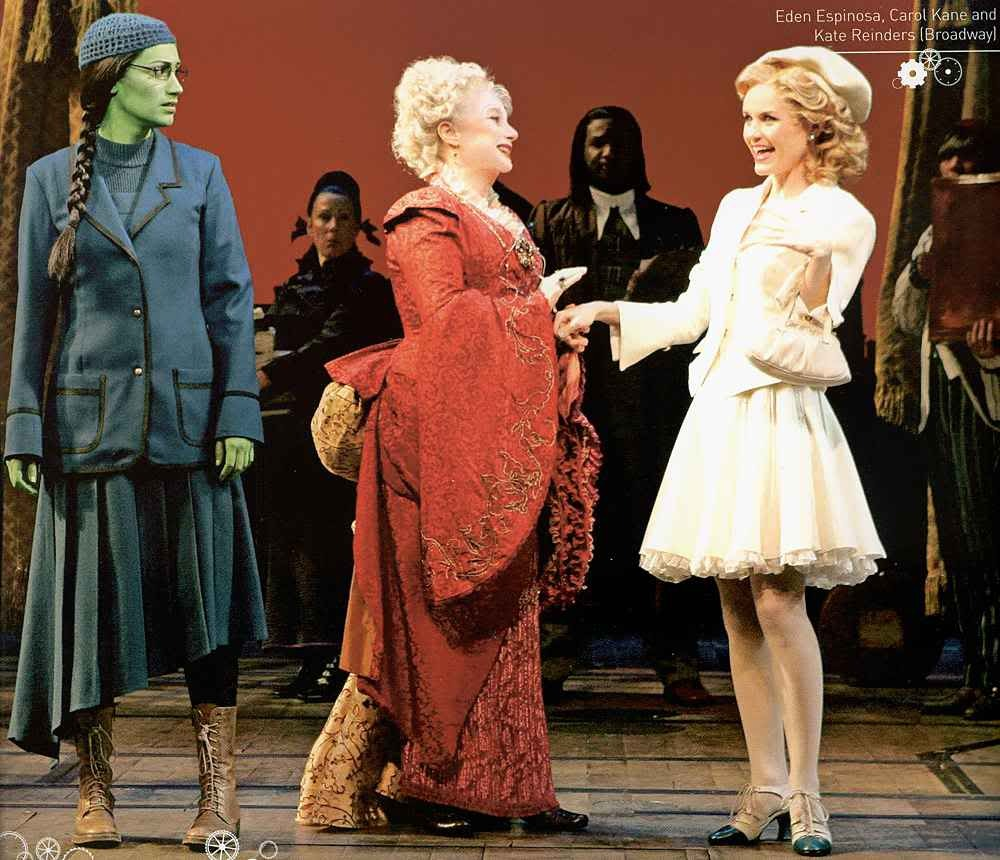 Eden Espinosa, Carol Kane and Kate Reinders | Broadway