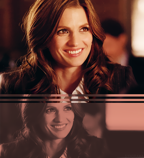 30 Days of Stana → Day Eleven - Favorite season three Beckett cap: One Life to Lose
