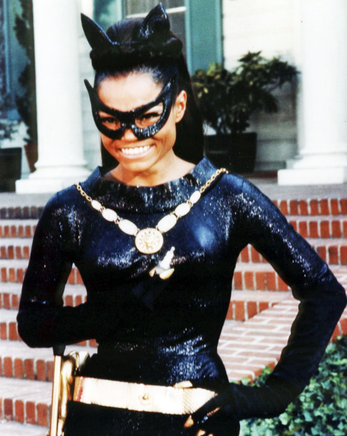 vintagegal:  Eartha Kitt as Catwoman (1960's)