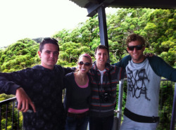 John, Kelly, Josh and Kyle