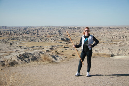 The Badlands… with a javelin.
