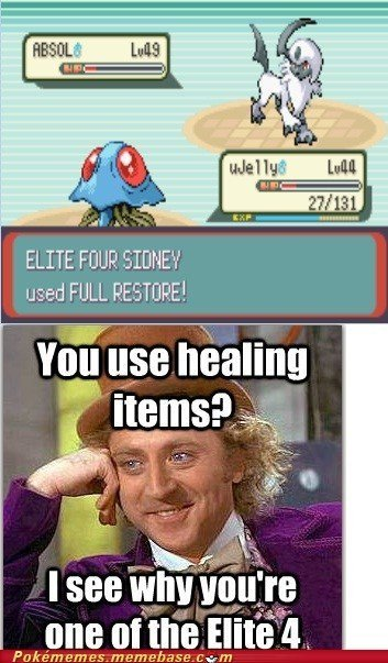 Exactly! DX fucking elite four ;-;