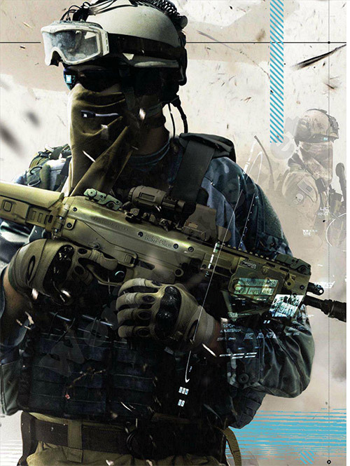gamefreaksnz:  Ghost Recon Future Soldier 'Ghosts' trailer #3  Ubisoft has released a new trailer for Ghost Recon Future Soldier that focuses on teamwork and the UAV.