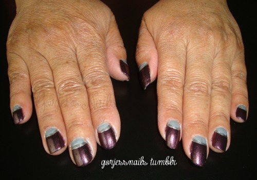 Sinful Colors- Casablanca. China Glaze- Bogie.
