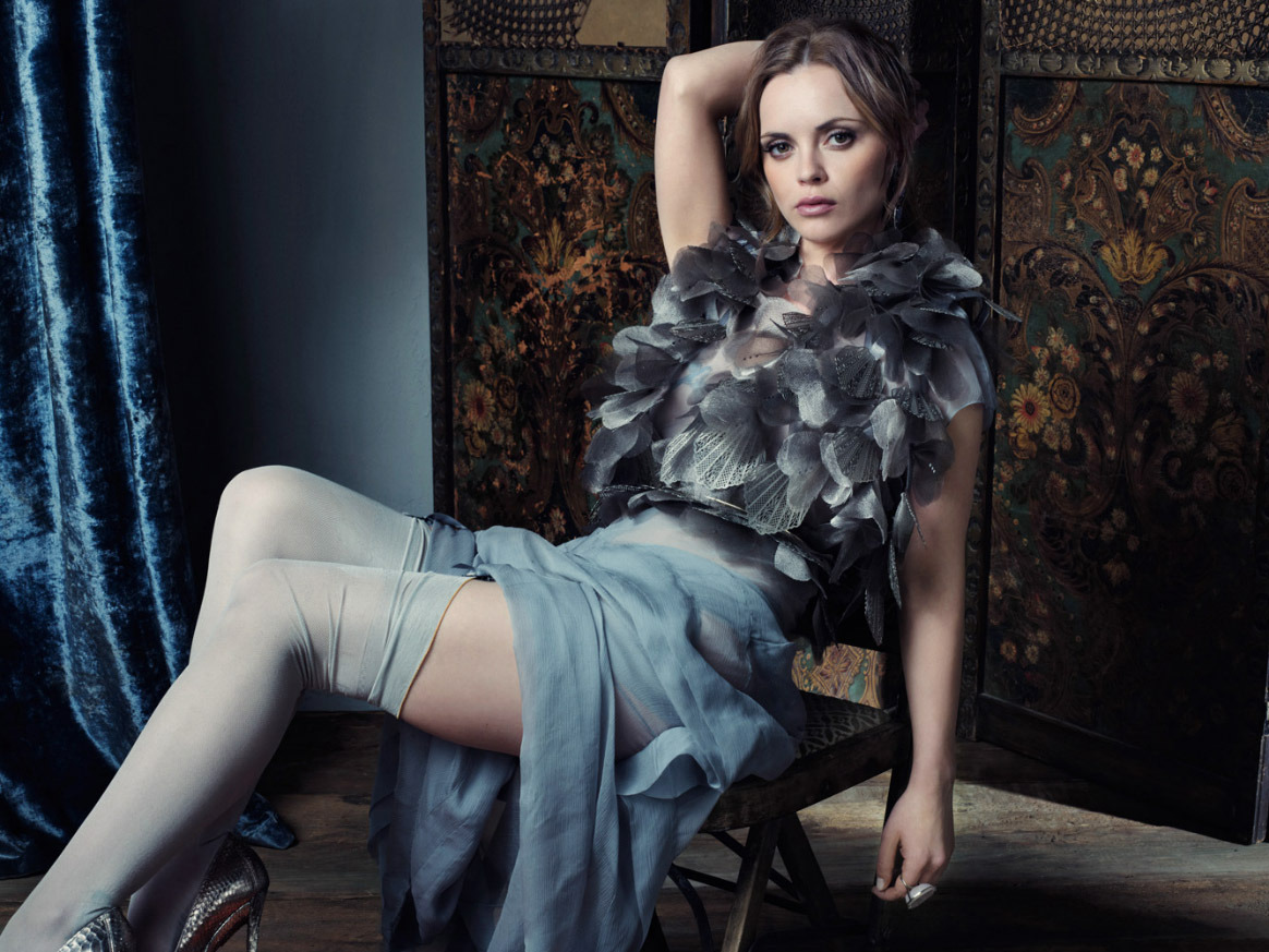 gasstation:  Christina Ricci - InStyle, September 2011