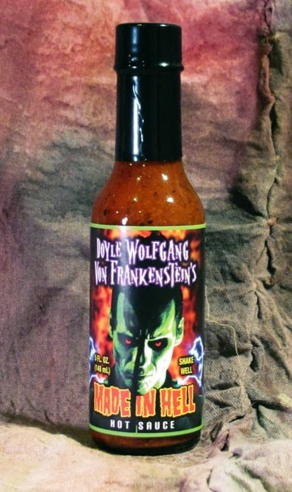 Doyle Beer Update: sorry, my mistake, it's hot sauce, and it's official!!! :) Here's info.