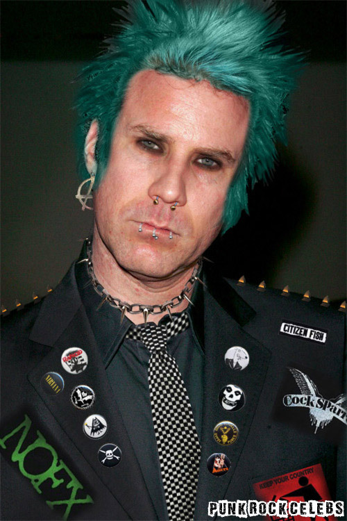 Punk Rock Will Ferrell