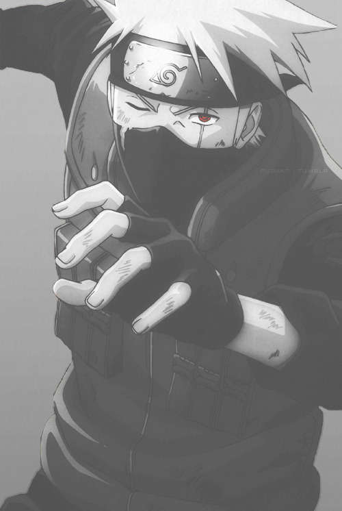 lifesmosh:  d0pe-inspired:  Favorite edit of kakashi  baaambalcaaat!!!