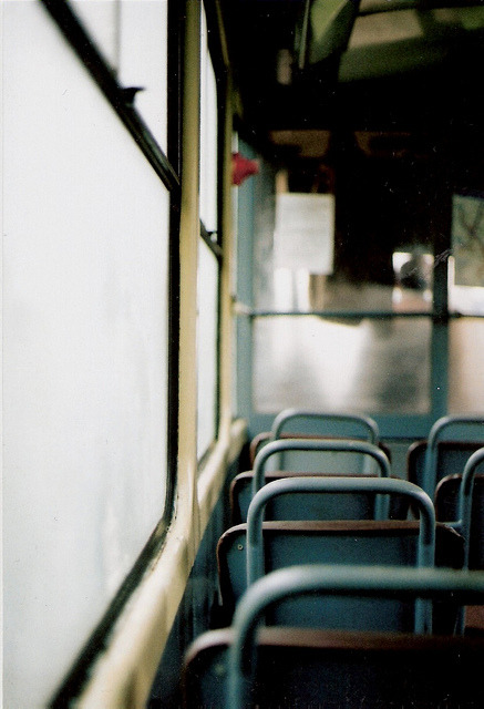 dirtyrascal:  Every time I'm on the bus, I think about the lives of the people around me - what are their heartbreaks? Their sorrows, their regrets, their memories, their joys, what do their laughs sound like? What type of childhood did they have/are having? - Because everyone is different, and what you do, no one else in the whole world will have done. And it's that feeling of uniqueness that makes everyone so different and interesting in this world.    (via imgTumble)