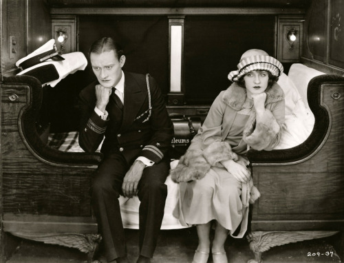 Conrad Nagel and Norma Shearer in Excuse Me, 1925
