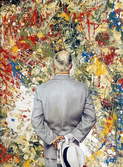lionskeleton:  The Connoisseur | Norman Rockwell   reasons why I love norman rockwell.