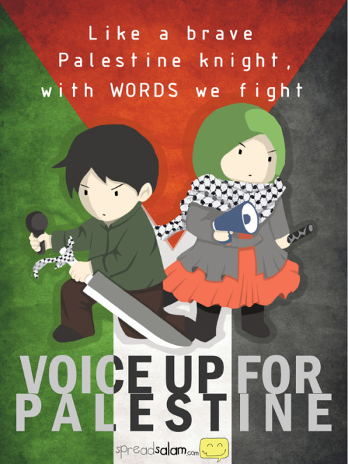 Like a brave Palestinian knight, with WORDS we FIGHT  In conjunction with Voice for Palestine Workshop in The University of Tasmania. Original Article
