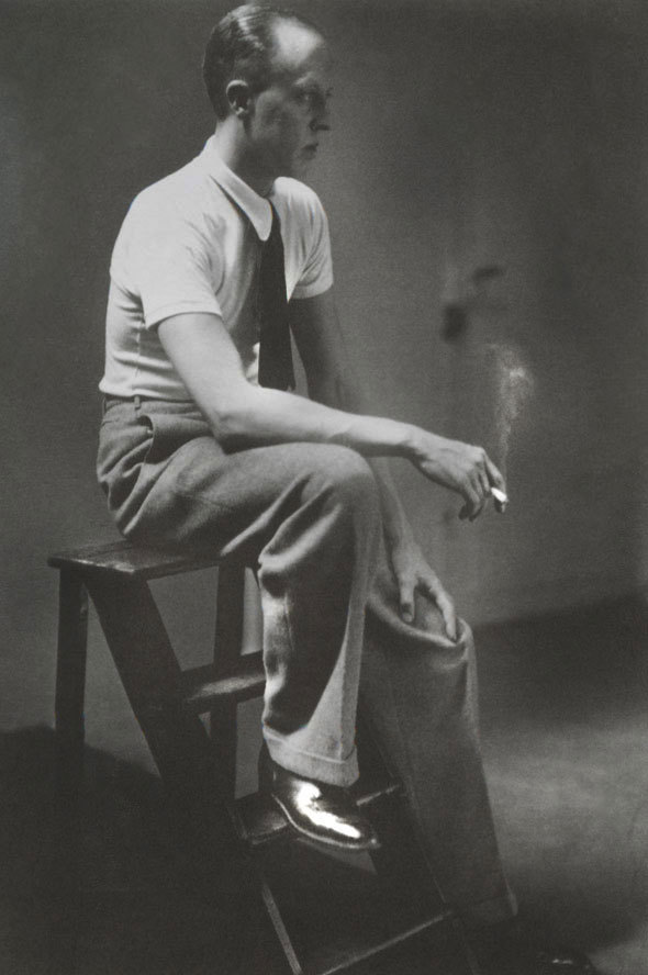 dandyportraits:  George Hoyningen-Huene, Paris,1932 by Marianne Breslauer via The Sartorialist