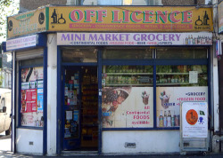 Off Licence, Plaistow Road E15