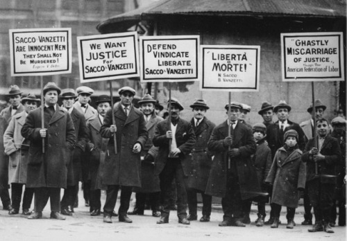 (via vintagephoto: Justice for Sacco and Vanzetti!) http://en.wikipedia.org/wiki/Sacco_and_Vanzetti