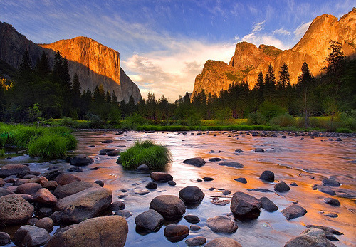 Glow After the Storm-Yosemite (by Landscape Images by David Shield)