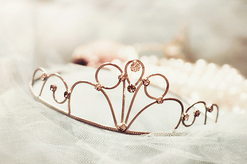 tiara.. every girls dream is to be a princess :)