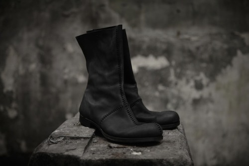 What Would Robb Stark Wear? Black Hightop Boots by Obscur S/S 2012