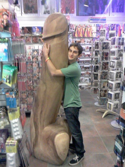 Here's me with a giant penis