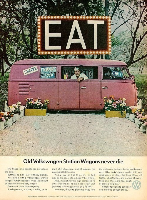 laughingsquid:  Old Volkswagen Station Wagons Never Die