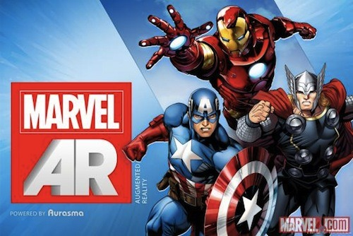"""As part of its 'ReEvolution' initiative, Marvel will be releasing an augmented reality app 'Marvel AR'. The new free app for iOS and Android devices will feature Marvel Infinite Comics (Marvel's digital comics) and an augmented reality application. When readers scan images and other various Marvel products that have the Marvel AR logo, within the app, extra content would be unlocked. These 'extra content' include the writer's scripts, audio footages, editor's comments, original artworks and other interactive content."" Full story and demo video here on Design Taxi"