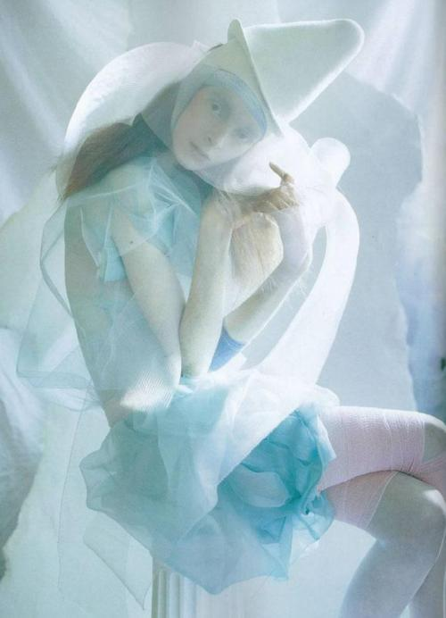 Alice Gibb in Vogue Italia, January 2008 by Tim Walker.