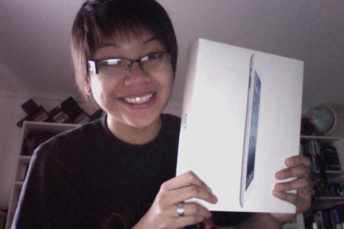 Finally got it! Ipad (3rd Gen) white 64GB waddup?!