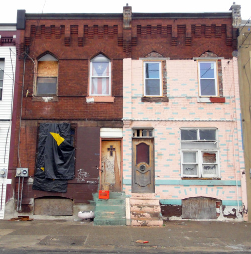 Quickie: 2 Rowhomes, Fairhill, North Philly.