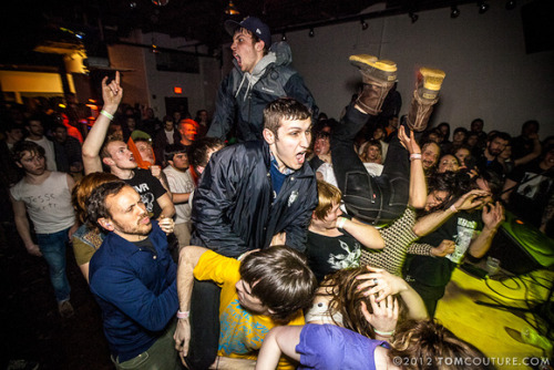 llbeanpr:  Bean Boot mosh pit at SPACE (Portland, Maine)  Something is definitely wrong here.