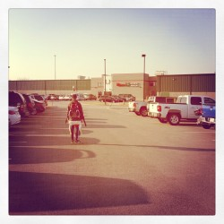 The athlete entering his domain #speedskate (Taken with instagram)
