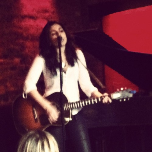 Check out this gem! Tatiana singing her heart out at Rockwood Music Hall a few weeks back.