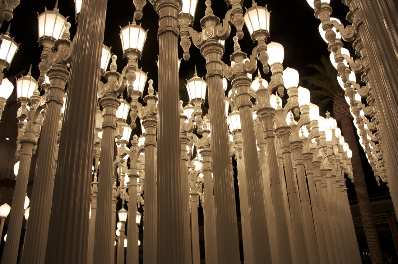 vwphotography:  Lamp Posts Los Angeles, CA, 2012
