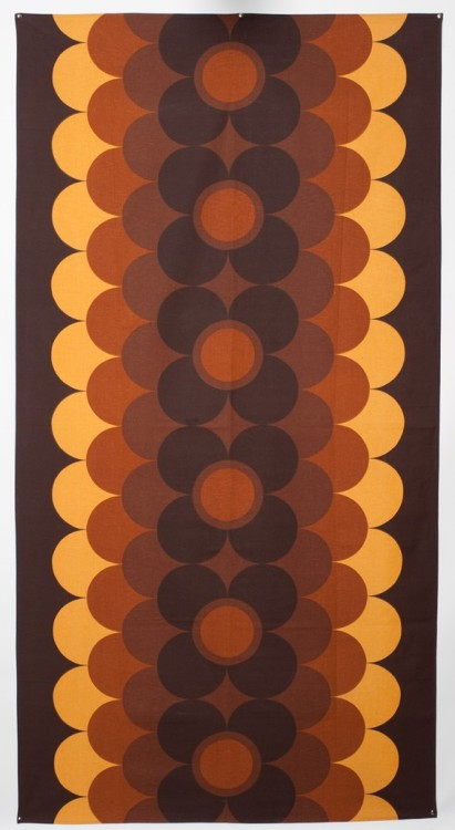 "highgatedreams:  Sodahl Designs Danish Modern Wall Hanging 100"" by 52""   danish 60s"