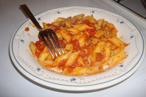 Click there for my recipe: Pasta all'Amatriciana. Cooking Fabr0!