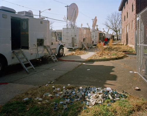 Whitney Houston, Newark, New Jersey, 2012 New image from outside Whitney Houston's funeral, featured on a nice write-up by McNair Evans on Black Harbor. http://theblackharbor.com/inspiration/christopher-dawson/