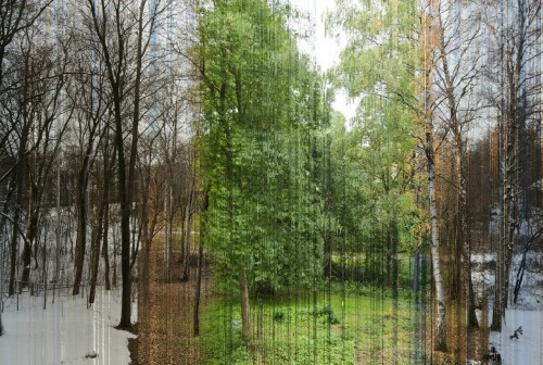 tessayo:  ne0n-streetlights:   A picture in 365 slices. Each slice is one day of the year.  wow. i don't even know what to say to this this is just, wow.  how could you be bothered with editing this