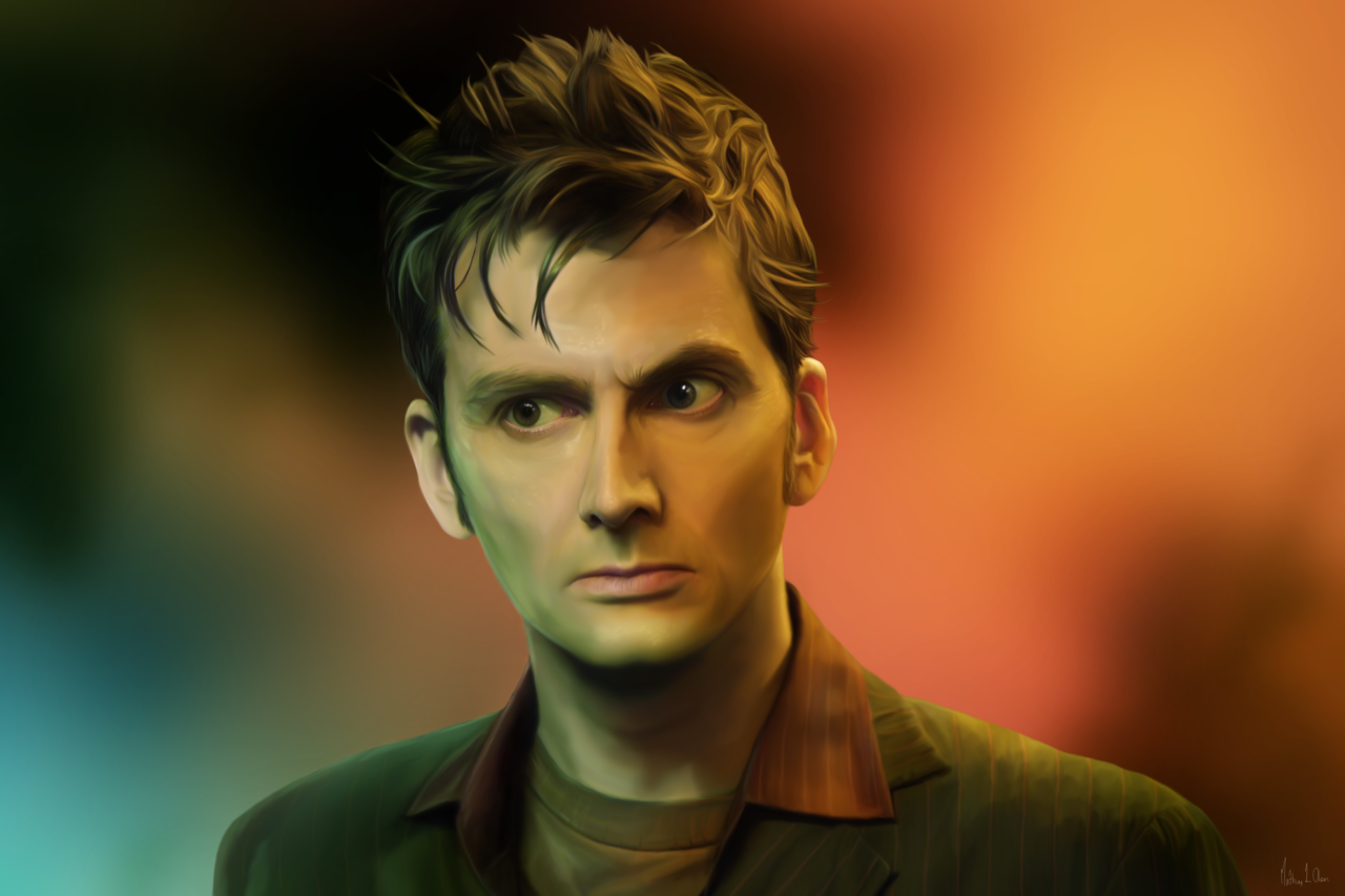 lasse17:  The Doctor - Painting by ~Lasse17