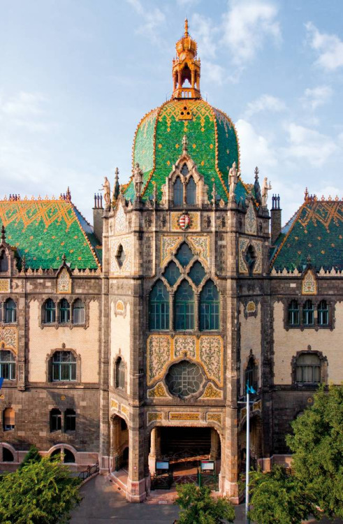 illusionwanderer:  Museum of Applied Arts, Budapest