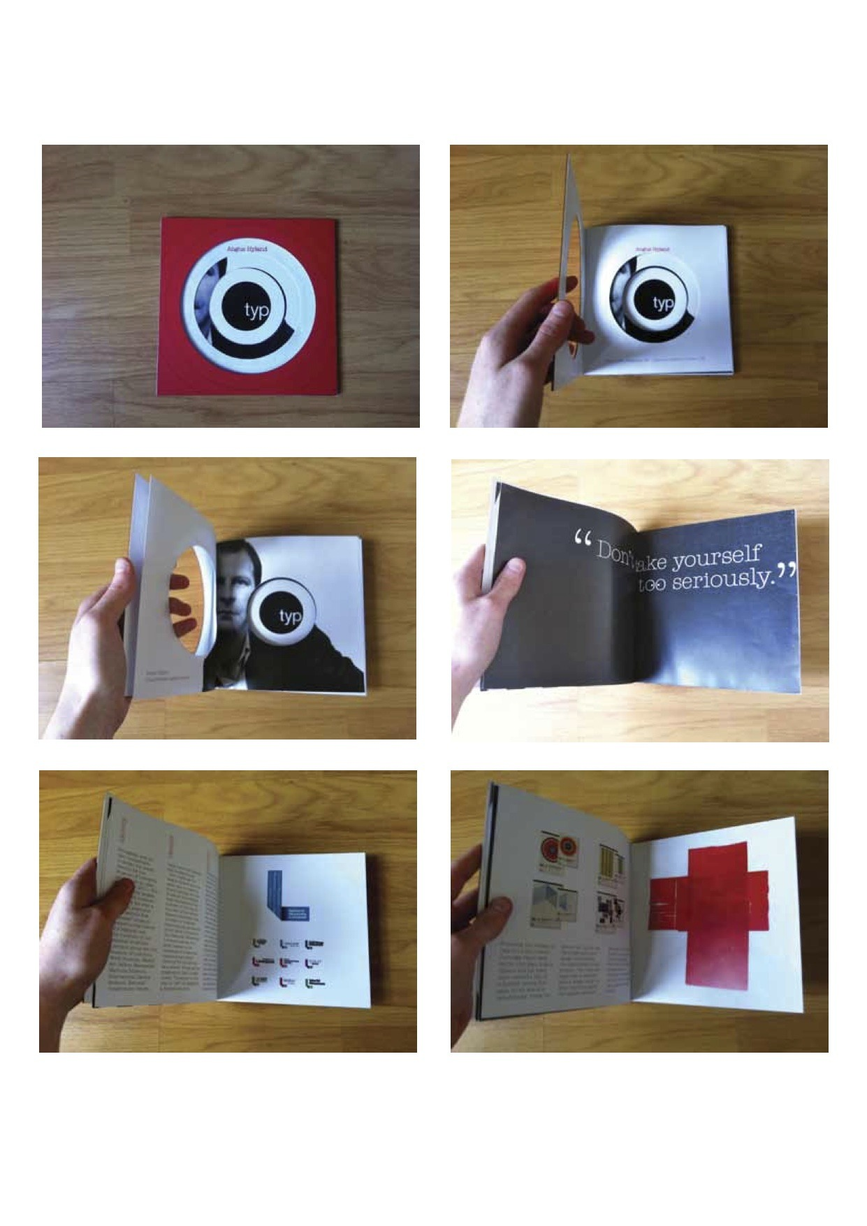 Photographs of my Typo Circle supplements.