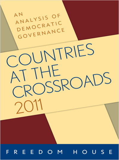 Just got my hard copy copy of the Freedom House Countries at the Crossroads 2011 report in the mail. You can view the entire report online. Or you can buy it the physical hardcopy here. I'm particularly excited because I was invited to write the Bolivia report. I tried to be balance (and the anonymous reviewers held me to that). Working with the editorial team was a great experience—and it was a great way to peek behind the curtain to see how Freedom House scores countries. I came away impressed.
