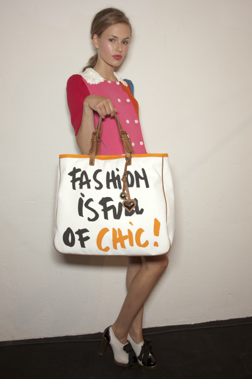 fashion-ocd:  Moschino Cheap & Chic Spring 2010 Backstage