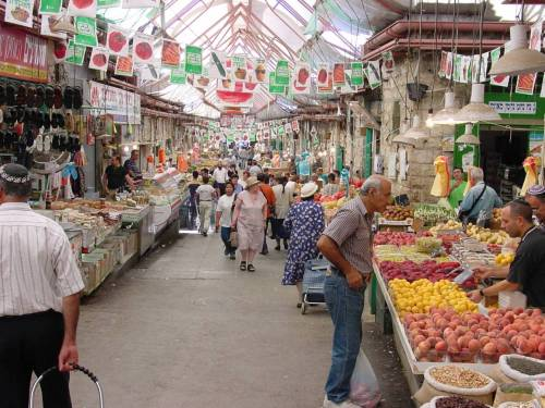 israelscouts:  Israel Photo of the Day: The Shuk Something we miss big-time when not in Israel is Shuk Machane Yehuda  - especially on Erev Shabbat. The famous shuk in Jerusalem is bustling on a normal day, but on Friday afternoons it is overflowing with men, women, and children shopping for Shabbat.