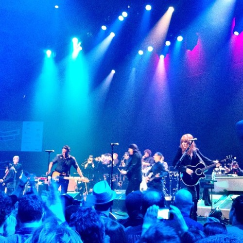 The Boss last night (Taken with Instagram at Austin City Limits Live at The Moody Theater)