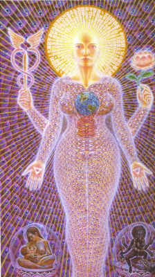 eijoo:  Sophia by Alex Grey