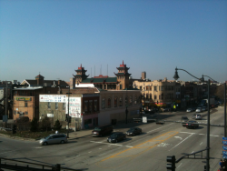 China Town in Chicago