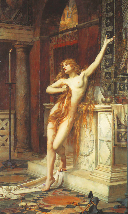 deadpaint:  Charles William Mitchell, Hypatia