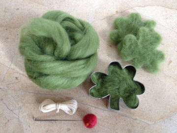 fyeahneedlefelting:  Carry around a needle felting kit today and I can just about guarantee no one will pinch you!  That cookie cutter idea is… so ridiculously obvious that I kinda hate myself for not thinking of it.