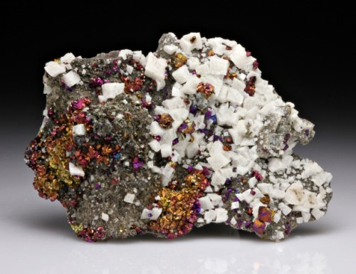 Chalcopyrite with Dolomite from Missouri by Dan Weinrich