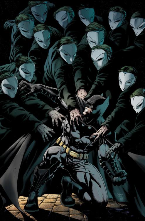 I am loving Snyder's run on Batman. It's like a Morrison Batman book that actually makes sense…